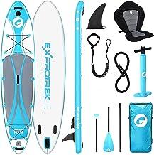 Exprotrek Stand Up Paddling Board, opblaasbaar SUP-board, stand-up paddle-board, 15,2 cm dik, voor alle moeilijkheidsgrade...