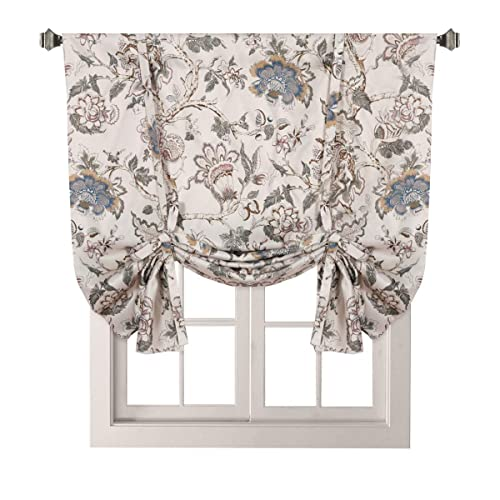 Fabric Tie Up Curtains Amazon Com