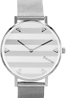 Re Time Series - Multi Dial Water Resistant Analog Quartz Quickly Release Stainless Steel Ladies Women Watch - No.RM-8701