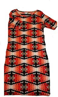 Julia XX-Large 2XL Disney Queen of Hearts from Alice in Wonderland Black, Red Cream White Trippy Geometric Stripe Form Fitting Dress fits Sizes 20-22