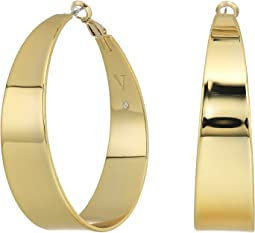 Vince Camuto Tapered Hoop Earrings