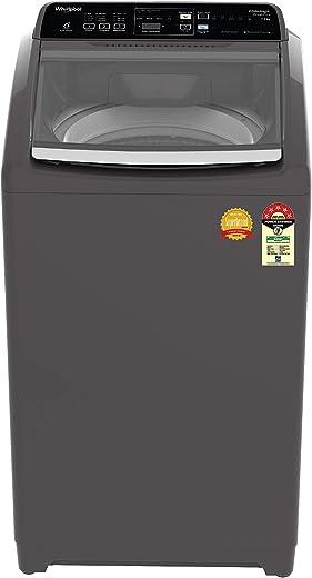 Whirlpool 7.5 Kg 5 Star Royal Plus Fully-Automatic Top Loading Washing Machine (WHITEMAGIC ROYAL PLUS 7.5, Grey, Hard Water Wash) 1