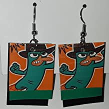 Phineas and Ferb Perry the Platypus Earrings
