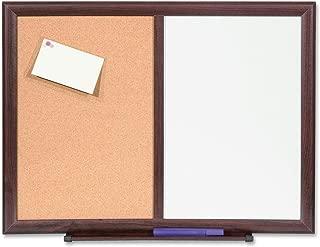 Lorell Bulletin Board Combo, Dry-Erase/Cork, 24