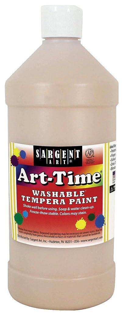 Sargent Art 17-3587 32 oz Peach Art-Time Washable Tempera Paint