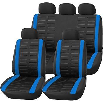 MERCEDES CLASSE B 5-sièges bleu Universal Sitzbezüge Housses de Protection Siège Auto Housses