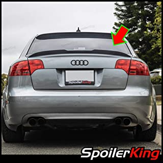 SpoilerKing Trunk Lip Spoiler with Center Cut (284GC) Compatible with Audi A4 2006-2008