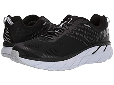 Hoka One One Clifton 6 (Black/White) Men