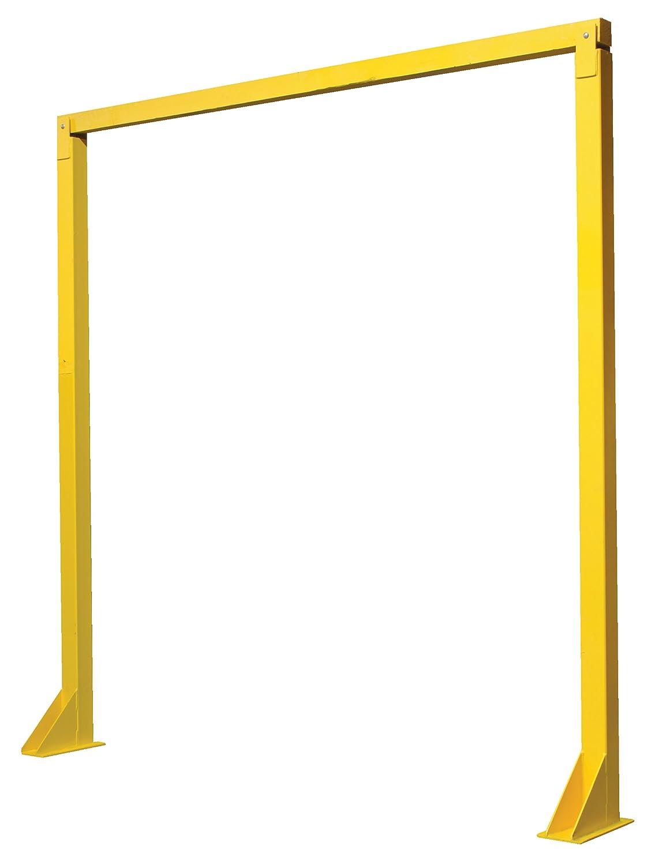 Financial sales sale Vestil DWB-910 Overhead Door Popular brand in the world Warning Yellow x 9' 10' Barrier