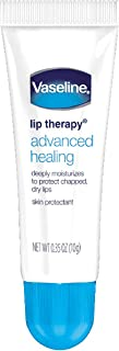 Vaseline Lip Therapy Advance Formula for Unisex - 0.35 oz Lip Therapy