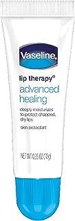 Vaseline Lip Therapy Lip Balm Tube, Advanced Healing Lip Moisturizer, 0.35 oz