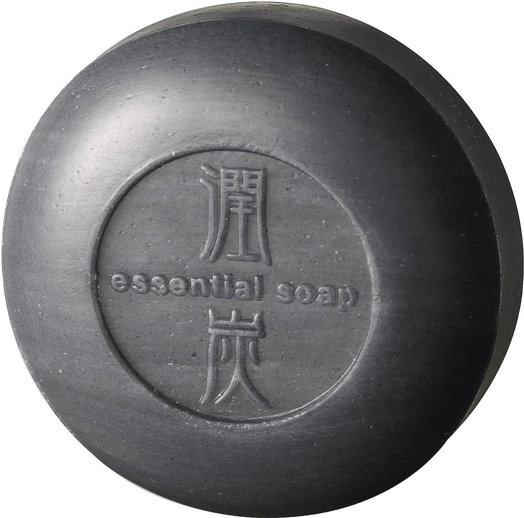 エーカーバウンドアミューズメントアクアライフ 潤炭シャンプー石鹸 [100g]