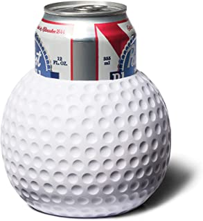 BigMouth Inc. Golf Ball Drink Kooler –Fits a 12 Ounce Can –Insulated Foam DrinkCoolerShaped Like a Golf Ball, Keeps Your Hands Warm and Your Drink Cold –Perfect for a Day on the Green