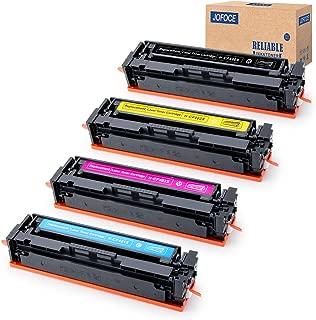 Jofoce Compatible Toner Cartridge Replacement for HP 201X 201A CF400X CF401X (1BK, 1C, 1M, 1Y), Work with HP Color Laserjet Pro MFP M277dw M252dw M277 M277n M277c6 M252 M252n M274n Printer