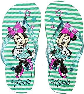 Tongs Enfant Fille Minnie Disney Rose//Vert du 28 au 33