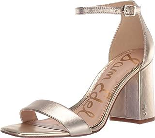 Best metallic block heel sandals Reviews