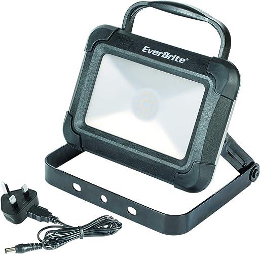 EverBrite EB61038 Lampe de Travail Rechargeable Mixte MultiCouleure Taille Unique