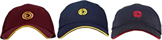 OJASS Embroidered Golf Cap (Pack of 3)-Free Size