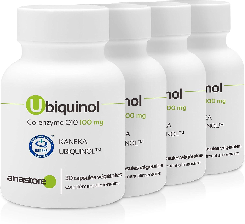 UBIQUINOL COENZIMA Q10 * 100 mg / 30 cápsulas * Antioxidantes