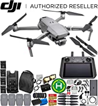 "DJI Mavic 2 Pro Drone Quadcopter with Hasselblad Camera 1"" CMOS Sensor with Smart Controller Ultimate 4-Battery Bundle"