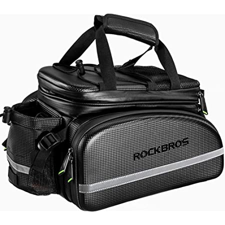 Black//Gray Cycling Bicycle Rear Seat Storage Trunk Bag New Bag Bike N5H7