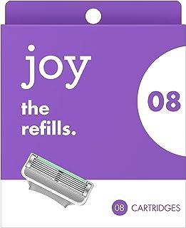 joy Five-Bladed, 8 Razor Blade Refills