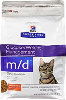 Hills M/D Weight Loss Diabetic Cat Food 4 Lb