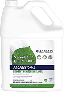 Sponsored Ad - Seventh Generation Professional Disinfecting Kitchen Cleaner Refill, Multi, 128 Fl Oz, Lemongrass Citrus, 2...
