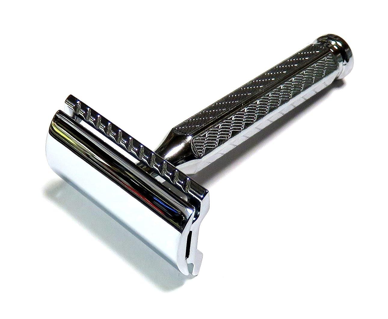 囚人チャンピオン狼MERKUR Solingen - Safety razor, chromed, closed comb, 9042001