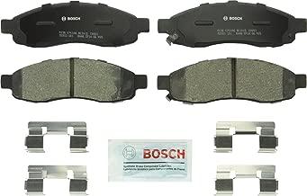 Bosch BC1015 QuietCast Premium Ceramic Disc Brake Pad Set For Infiniti: 2004-2005 QX56; Nissan: 2005-2006 Armada, 2004 Pathfinder Armada, 2004-2007 Titan; Front