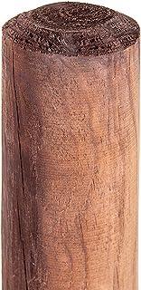 Postes, estacas redondas, de madera, fijación