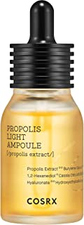 COSRX Full Fit Propolis Light Ampoule, 1.01 fl.oz / 30ml | Hydrating Serum with Propolis 73.5% | Korean Skin Care, Paraben...