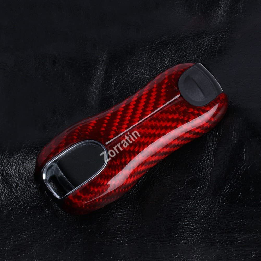or 911 Carrera 2020+ Be sure check fitment before you buy Red Carbon Fiber Key Remote Trim for Gen2 Porsche Panamera 2017 or Cayenne 2018