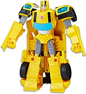 "TRANSFORMERS - 7.5"" Bumblebee Action Figure - Cyberverse Ultra Class Autobot - Kids Toys - Ages 6+"