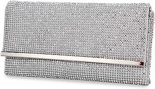 Selighting Bolso de Mano Diamante Cristal Noche Bolso Diamante Moldeada del Bolso de Embrague de Noche para Fiesta de Noch...