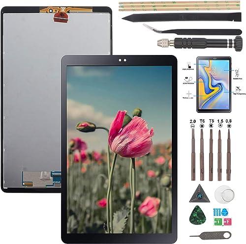 YWL-OU pour Samsung Galaxy Tab A 10.5 T590 T595 SM-T590 SM-T595 Écran LCD + Vitre Tactile Digitizer Capteur Assemblé ...