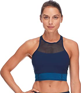 Body Glove Active Women's Vibe Medium Support HIGH Neck Activewear Sport Bra