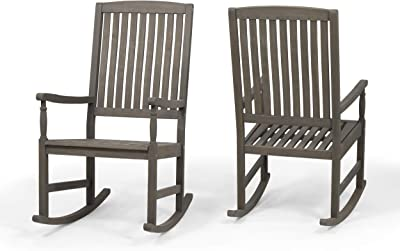 Marvelous Amazon Com Amazonbasics Foldable Rocking Chair Black Machost Co Dining Chair Design Ideas Machostcouk