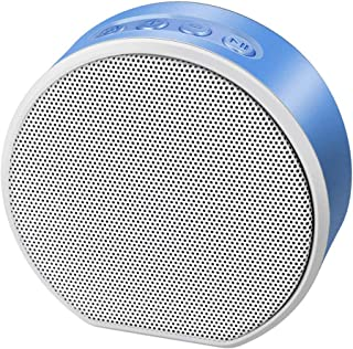 TDCQQ Bluetooth Speaker,Wireless Portable Travel Mini Speaker with Superior Sound,8-Hour Playtime,Build-in Mic,Stereo Sound for Party,Bedroom,Living Room (Color : Blue)