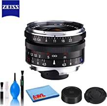 Zeiss Biogon T 21mm f/4.5 for M Mount Cameras (Black) with Cleaning Kit
