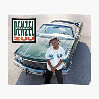 Denzel Curry - Zuu Album Cover Poster Small (19.4 x 16.4 in) | Posters Wall Art for College University Dorms, Blank Walls, Bedrooms | Gift Great Cool Trendy Artsy Fun Awesome Present
