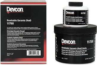 Devcon 11760 Red Brushable Ceramic Epoxy Compound, 2 lb. Bottle