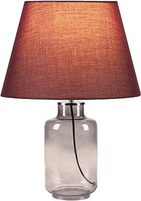 SLV fenda–Lampada da tavolo, Acciaio, Vetro fumè