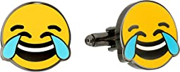 Cufflinks Inc. - Tears of Joy Emoji Cufflinks