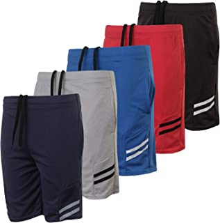 Real Essentials Boys' 5-Pack Mesh Active Athletic...