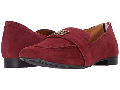 Tommy Hilfiger Trudiy (Dark Red Suede) Women