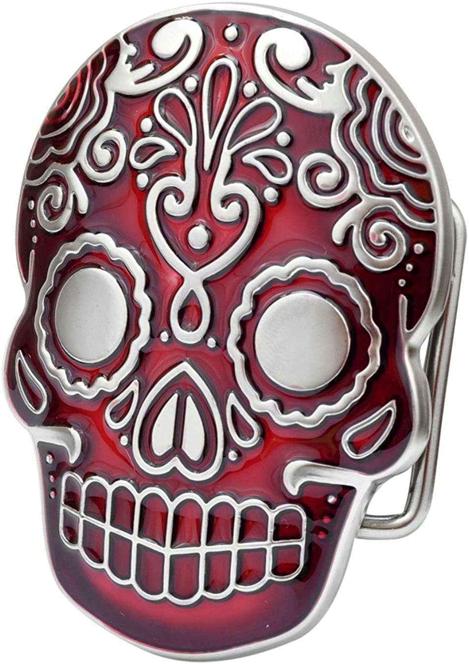 Ivory Falcon online shopping Dia De Los Indefinitely Muertos Buckle Skull Belt Mexican Aztec