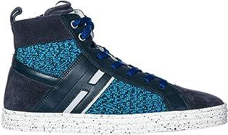 .Hogan Rebel Sneakers Alte r141 Bambino Blu