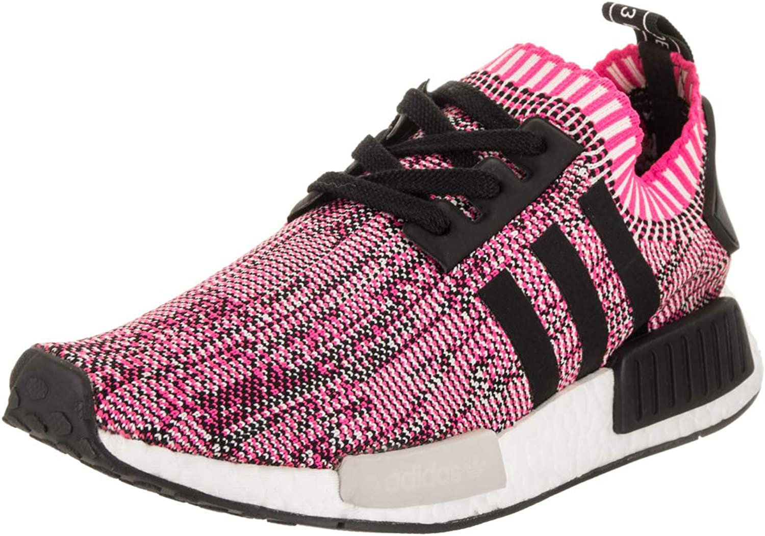 NMD R1 Primeknit Womens in Shock Pink Core Black by Adidas