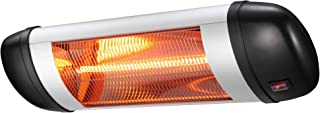Xbeauty Wall Mounted Infrared Space Heater, Indoor/Outdoor Energy Efficient Waterproof Patio Heater